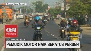 Penuhi Jalur Pantura, Pemudik Motor Naik 100% - Go Mudik 2018 Mp3