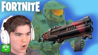 FORTNITE as HALO Master Chief with Dragons Breaths on HobbyGaming
