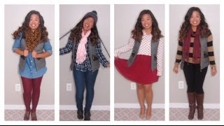 4 Ways to style a puffer vest! Thumbnail