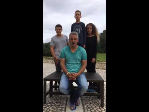 Roberto Baggio ALS Ice Bucket Challenge