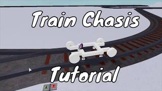 How to Make a Train Chassis | Plane Crazy Roblox Tutorials