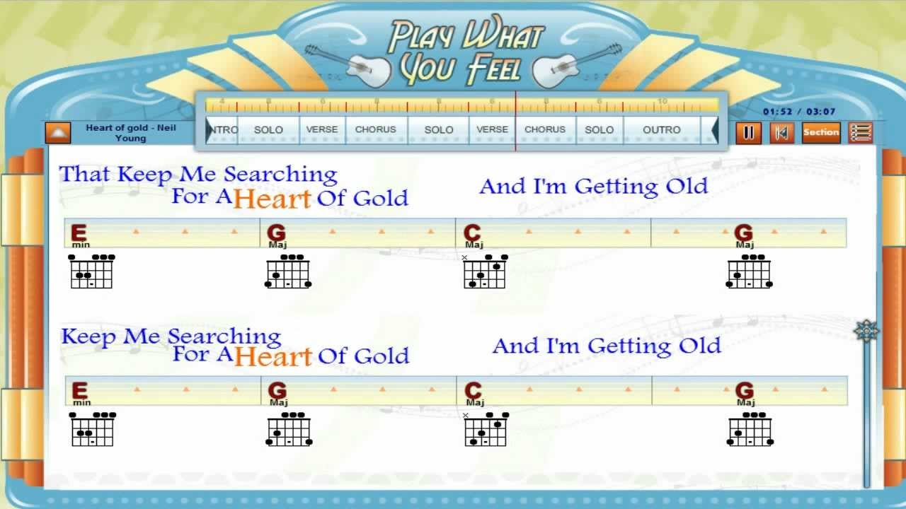 Heart of gold neil young guitaraoke chords lyrics guitar heart of gold neil young guitaraoke chords lyrics guitar lesson playwhatyoufeel hexwebz Image collections