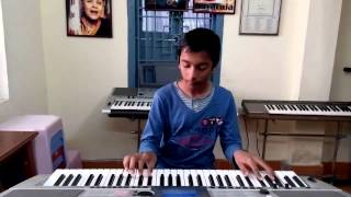 NEW HINDI SONG JUMME KI RAAT FROM KICK ON KEYBOARD BY AYUSH