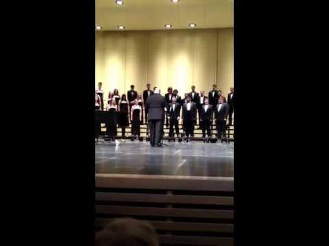 Cloudburst (Eric Whitacre) done by Westminster High school, Colorado, May 2013. Connor Maclean