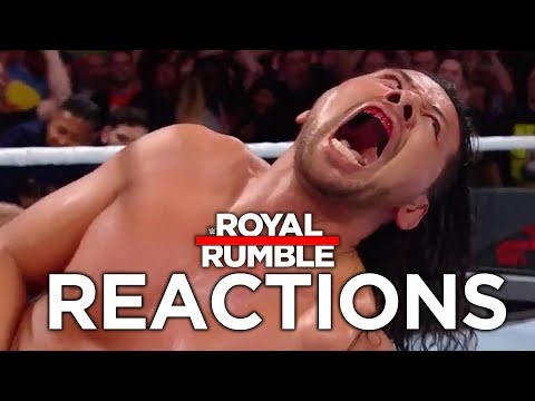 WWE Royal Rumble 2018 Reactions