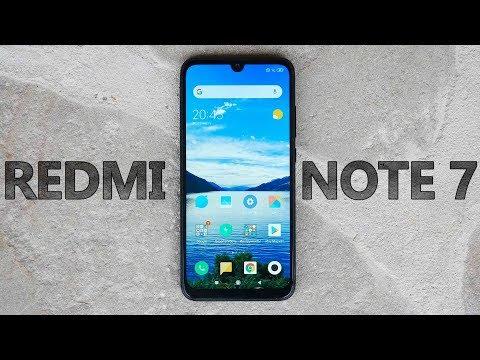 Xiaomi Redmi Note 7 - Обзор