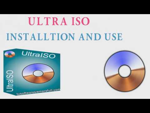 How to Save Our CD/ DVD disc data by ULTRA ISO - YouTube