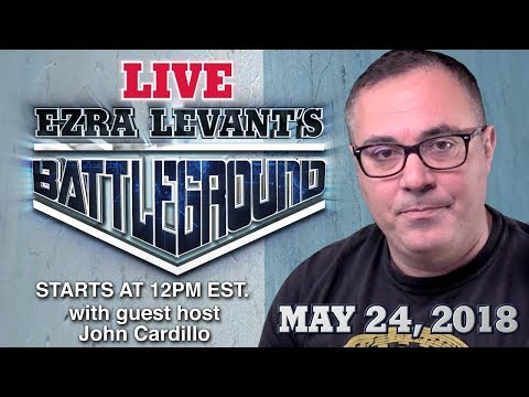 Live with John Cardillo! John Cardillo guests hosts for Ezra today - PLUS your comments