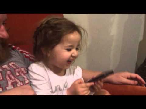 Little Girl Loves Siri