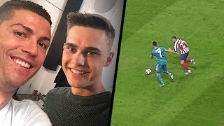 TRÄFFAR CRISTIANO RONALDO! - JUVENTUS VS ATLETICO MADRID!