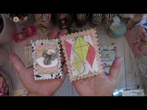 Postage Stamp Embellishments and TM Haul