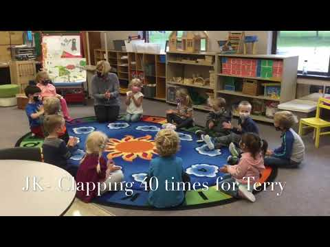 Terry Fox Foundation- What's your 40 - Woodstock Christian School