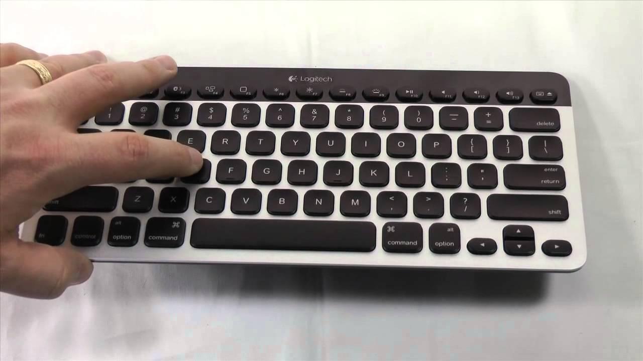 Logitech Easy-Switch Bluetooth Keyboard (K811)