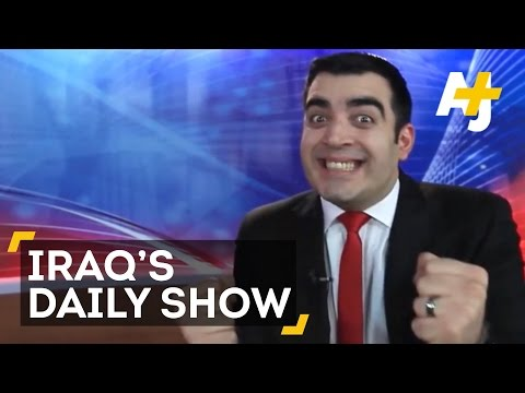 Daily Show Iraq: Ahmed Albasheer Fights ISIS With Comedy