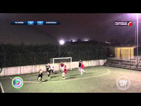 Serie A 22ª   To Work 9-4 Costarica   Lega Calcio a 5