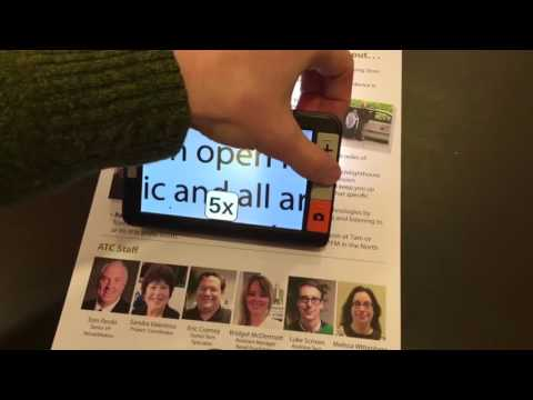 Explor? 5 handheld electronic magnifier - a review by The Chicago Lighthouse