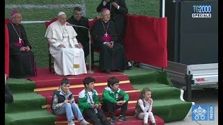 Papa a Corviale, risponde ai bimbi della parrocchia
