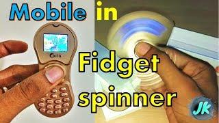 Spinner Phone - Unboxing Fidget spinner mobile - Really hot 🔥 || JKtricks