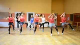 Ruda tańczy jak szalona Czadoman Alex Zumba Krotoszyn TEMPERATURE