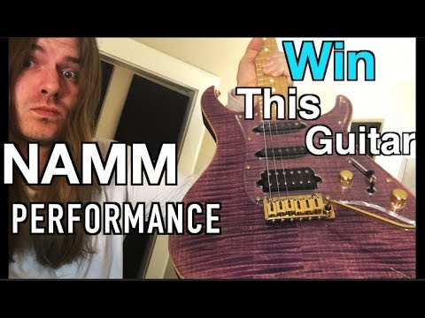 NAMM Performance - Guitar Giveaway - Free Picks!