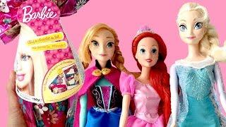 BARBIE EGG Barbie Easter Egg Barbie Huevo de Chocolate Surprise Egg Barbie Doll Mattel Toys