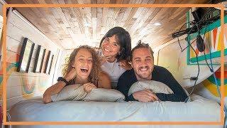 3 PEOPLE LIVING IΝ A VAN | Van Life Colombia