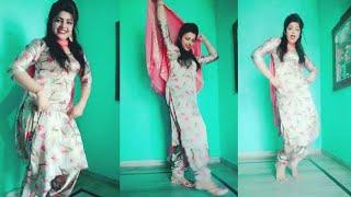 Kade Haal Lag Jya Panihari Haryanvi Song By Raju Punjabi Tiktok Dance video