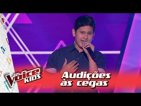 Lorenzo canta 'Fantasma' na Audição – 'The Voice Kids Brasil' | 3ª Temporada