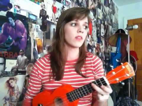 Such Great Heights Postal Service Ukulele Cover Youtube