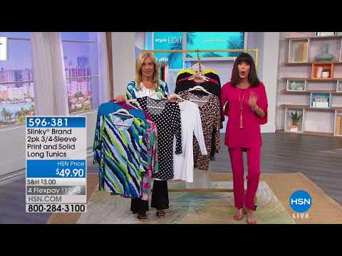 HSN | Slinky Brand Fashions . http://bit.ly/2ZPmQ0L