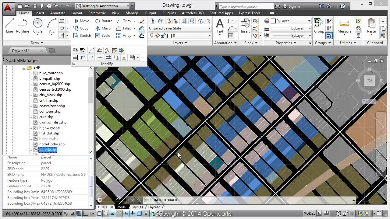 How to import Shapefiles into AutoCAD - Spatial Manager