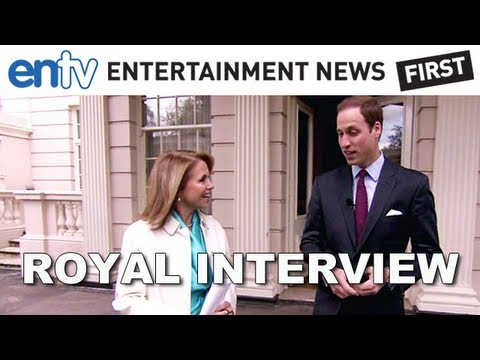 Prince William And Harry Katie Couric Interview: Talking Que