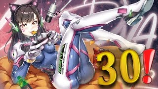 30 CRAZY PLAYS OF THE GAME #40 ►Overwatch Highlights Community Montage