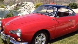 1961 Volkswagen Karmann Ghia Used Cars Newport Beach CA
