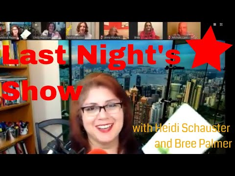 Heidi Schauster and Bree Palmer talk about Nourishing Words and Amazing Humans