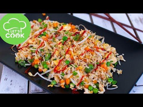 REZEPT: Gebratener Reis mit Gemüse | Wie beim Asiaten