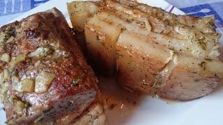 РЕЦЕПТ Сало в Духовке(очень вкусный рецет сала в духовке запечёный в фольге получается сочное и ароматное смотрим видео и готови..., 2015-10-22T20:14:04.000Z)