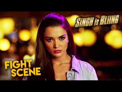 Amy Jackson Fight Scene | Singh is Bliing...