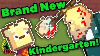 Zapętlaj The Kindergarten 2 Demo World Premiere! | Game Theory Charity Livestream | GTLive