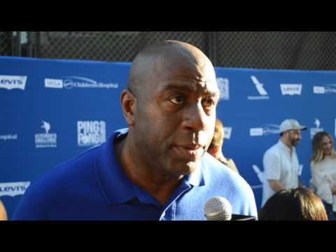 Magic Johnson on Kershaw's Challenge & Event in LA