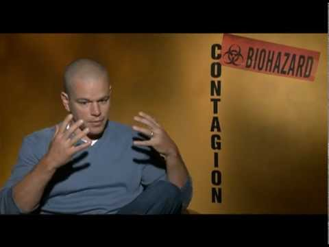 Matt Damon Interview for CONTAGION
