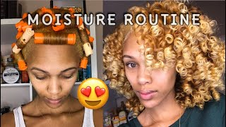 Moisture Routine For Soft/Smooth Bouncy Curls