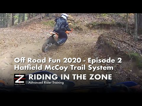 Dirt Riding Fun - Episode 2 - Hatfield McCoy,  Pinnacle Creek, WV