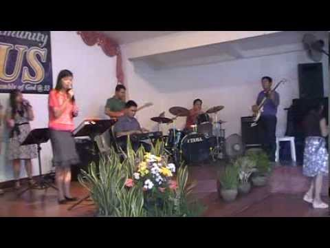 Peace Assembly of God, Sunday Worship  07-08-2012 @ Matina Balusong Davao City Phils.