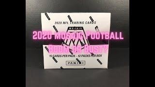 2020 Mosaic Football Break - Full 12 Cello Pack Box! 😲