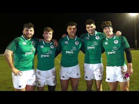 Irish Rugby TV: Italy U20 V Ireland U20 Live
