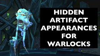 Hidden Artifact Appearances for Warlocks (Hidden Potential) | WoW Guide