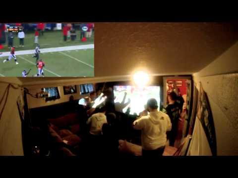 Super Bowl 48 Fan Reaction