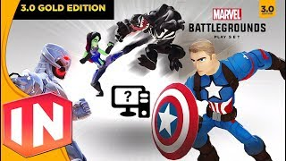 Disney Infinity 3.0 - Marvel Battlegrounds Playset On PC Mod!