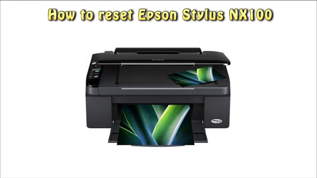 Epson Stylus NX100 Printer Windows 8 Drivers Download (2019)
